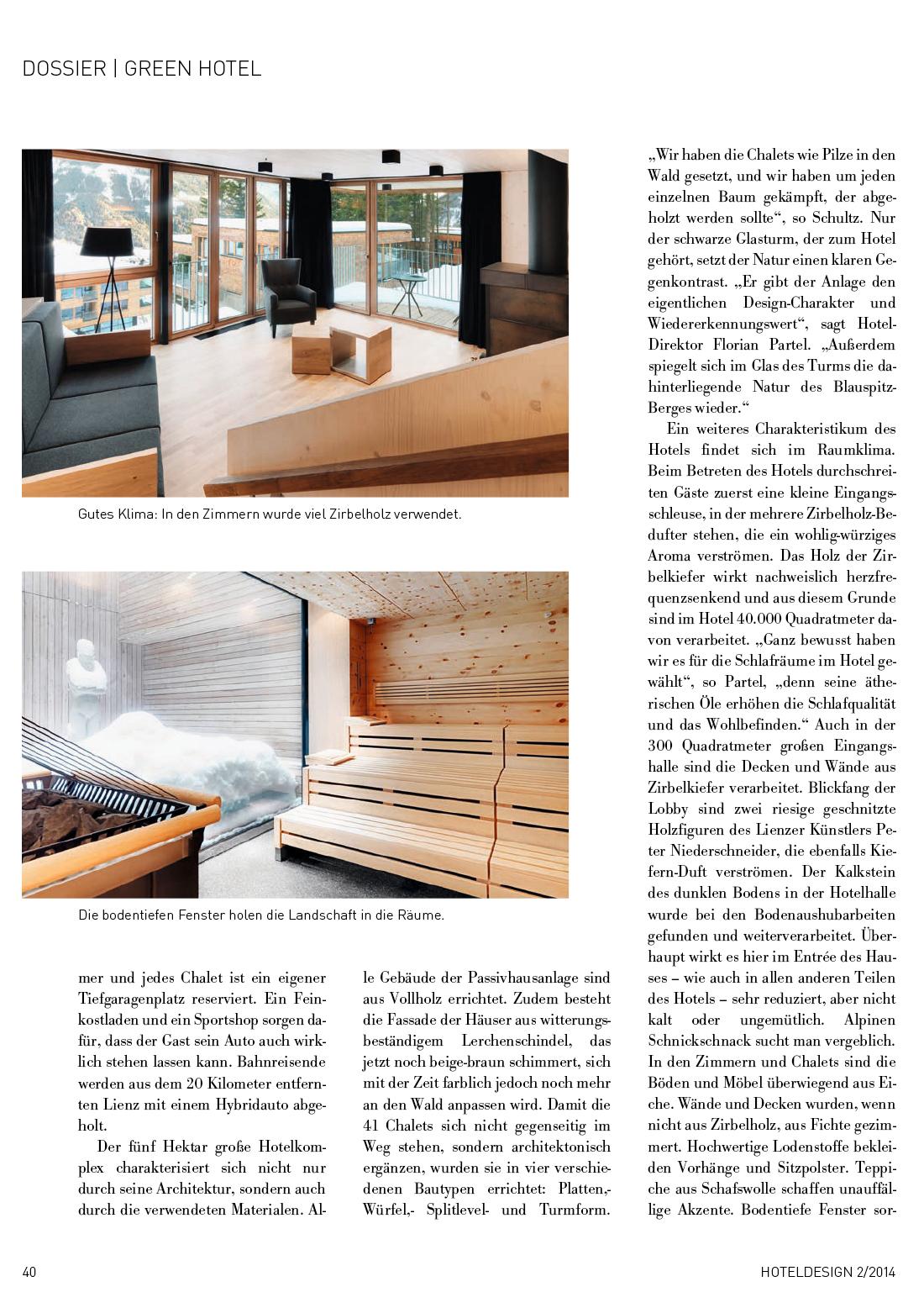 Hotel design gradonna mountain resort for Ruxxa design hotel 3